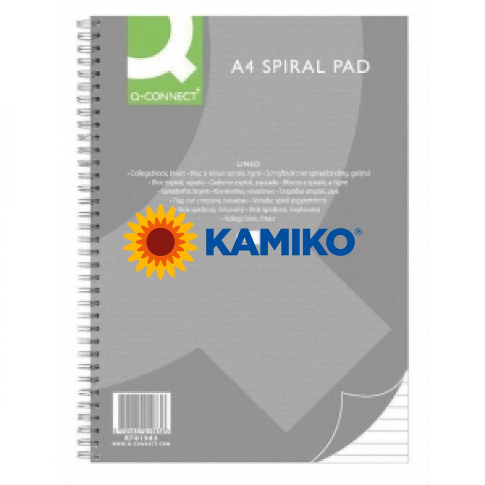 Kancelársky blok Q-Connect A4,80 listov,linajkový (KF01983)