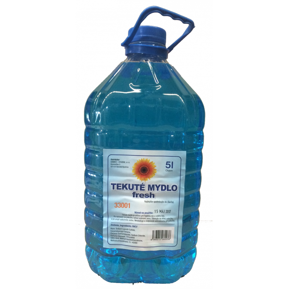 Mydlo tekuté KAMIKO FRESH 5000ml s glycerínom