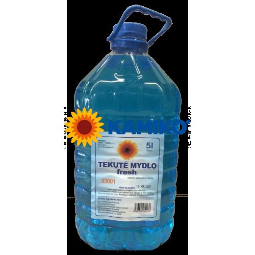 Mydlo tekuté KAMIKO Fresh 5 000 ml, modré
