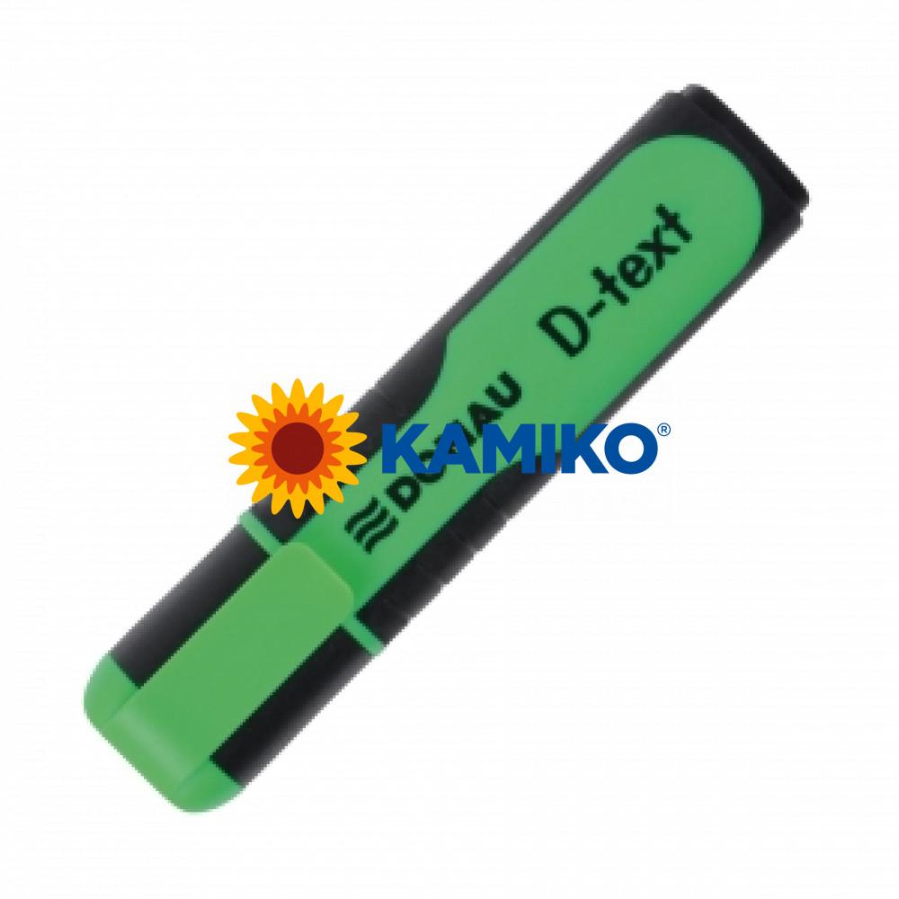 Zvýrazňovač DONAU D-text zelený
