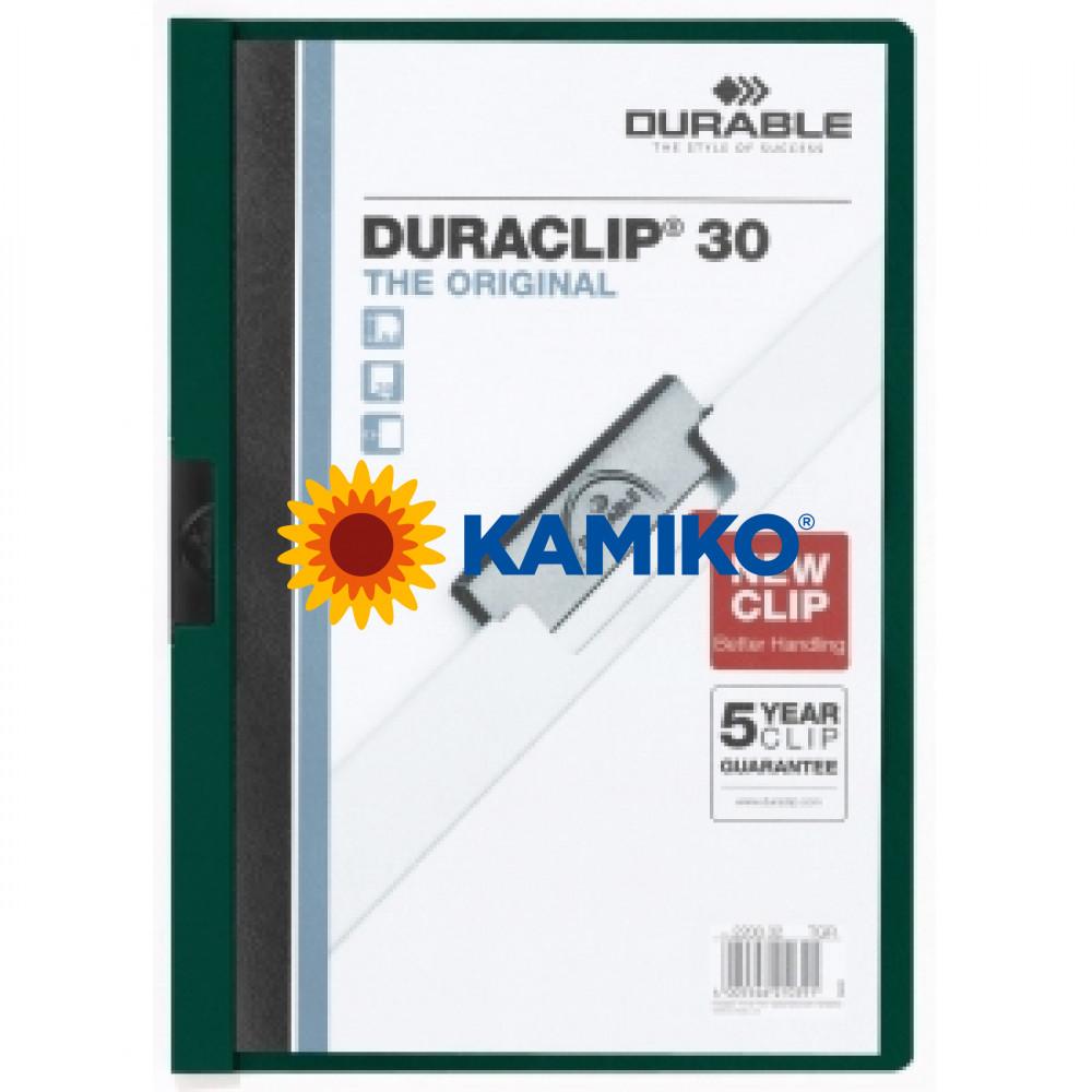 DURACLIP Original 30 tmavozelený