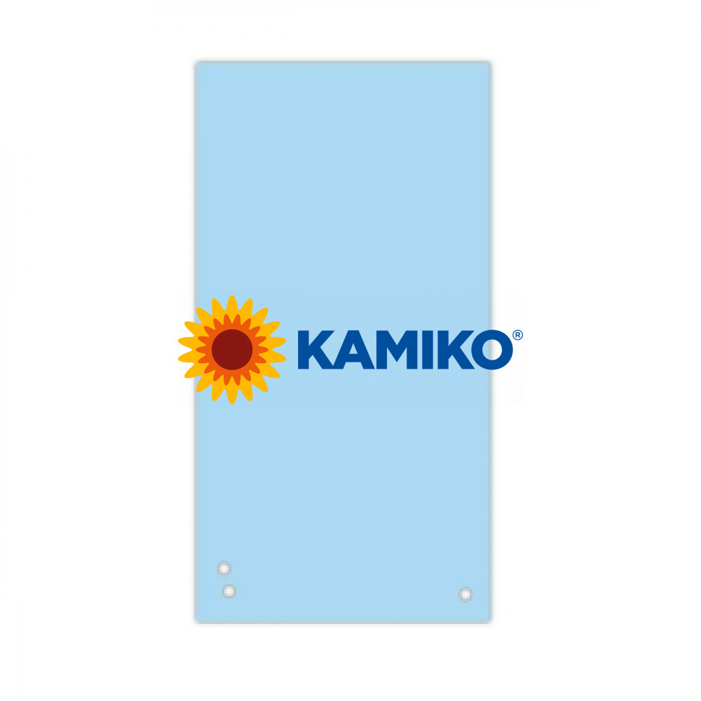 Kartónový rozraďovač úzky modrý 105x235 mm