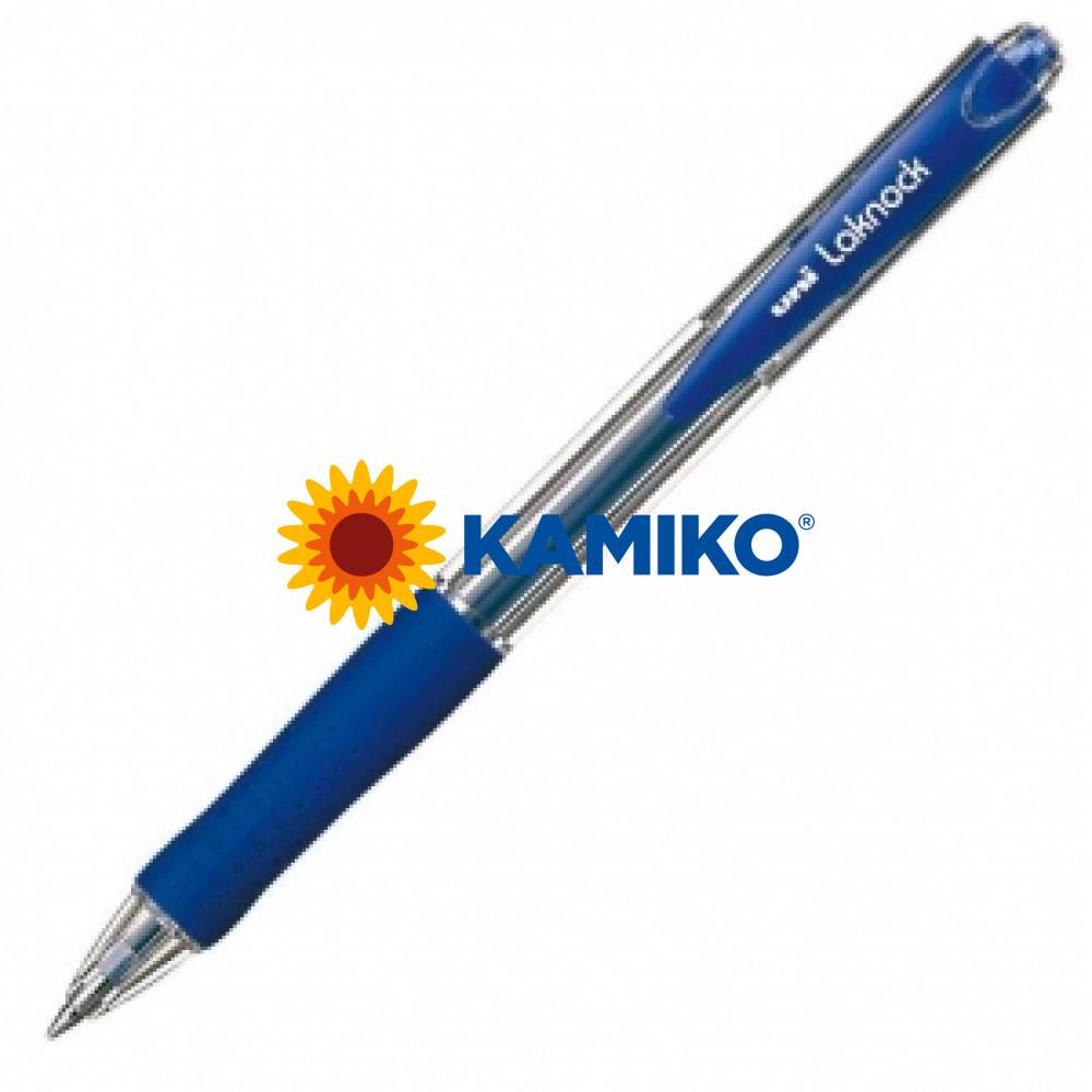 Guľôčkové pero uni Laknock SN-100(05) modré