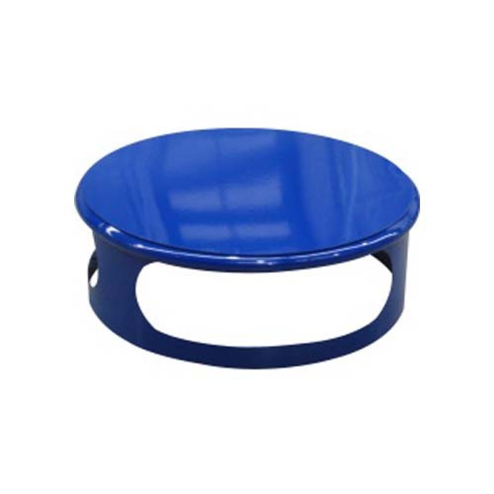 Veko koša pre betónový kôš 180 kg - lak modrý