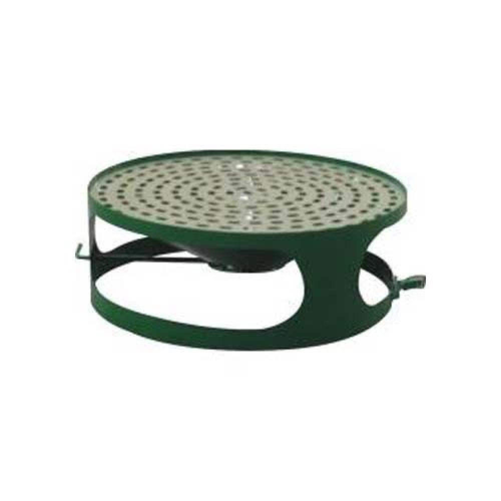 Veko koša s popolníkom pre betónový kôš 180 kg - lak zelený