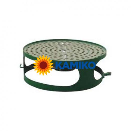 Veko pre betónový kôš s popolníkom, zelené