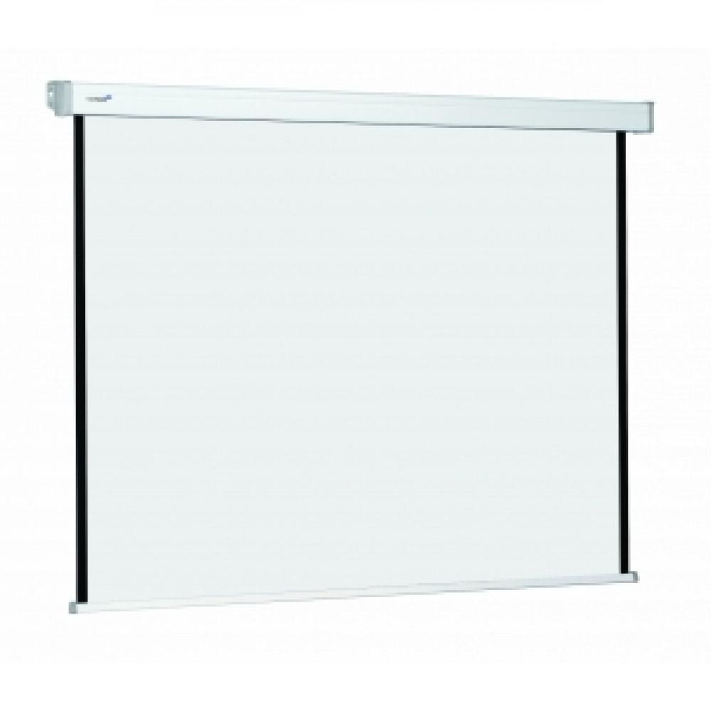 Nástenné elektrické plátno Premium RF 1:1 240x240cm