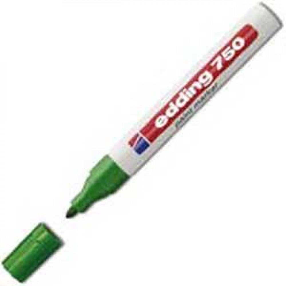 Lakový popisovač edding 750 zelený