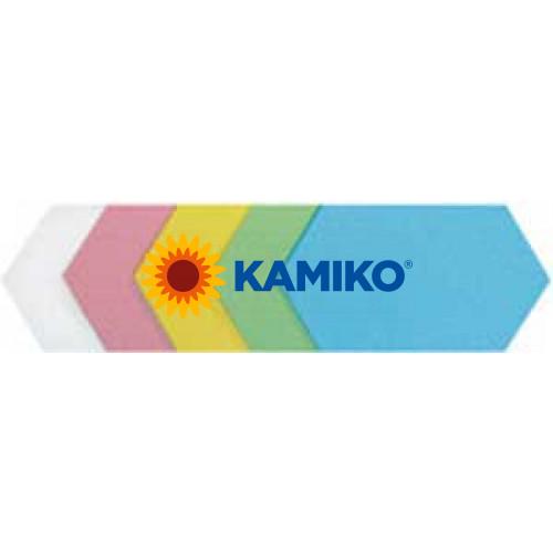 Moderačné šesťuholníky 16,5 x 30 cm farebný mix, 100 ks