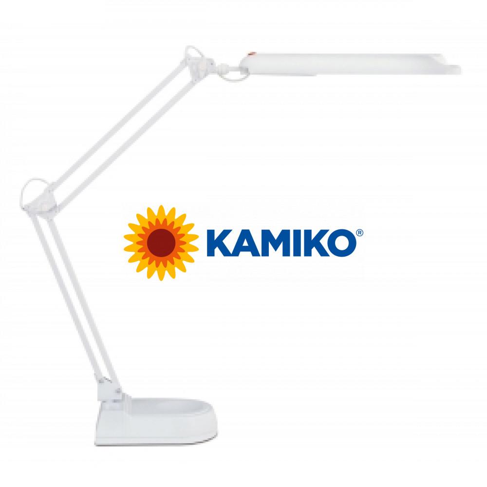Energeticky úsporná lampa MAULatlantic so základňou biela