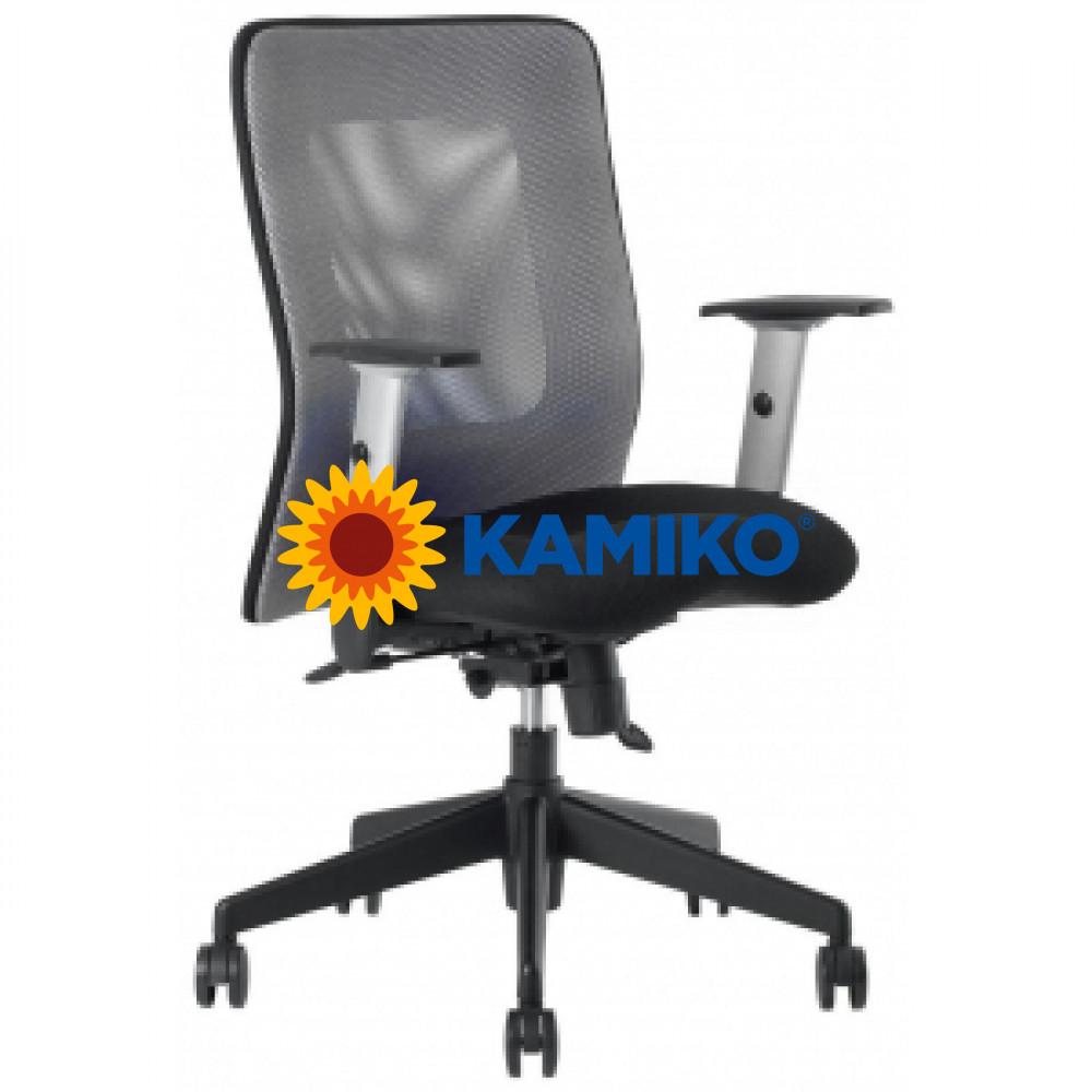 Kancelárska stolička CALYPSO antracitová