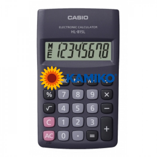 Kalkulačka Casio HL-815L BK