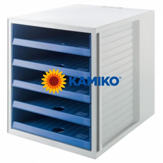 Zásuvkový box Cabinet KARMA eko-modrá