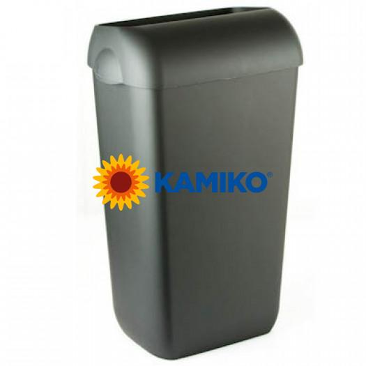 Kôš na odpad COLORED EDITION 23 L plastový, čierny
