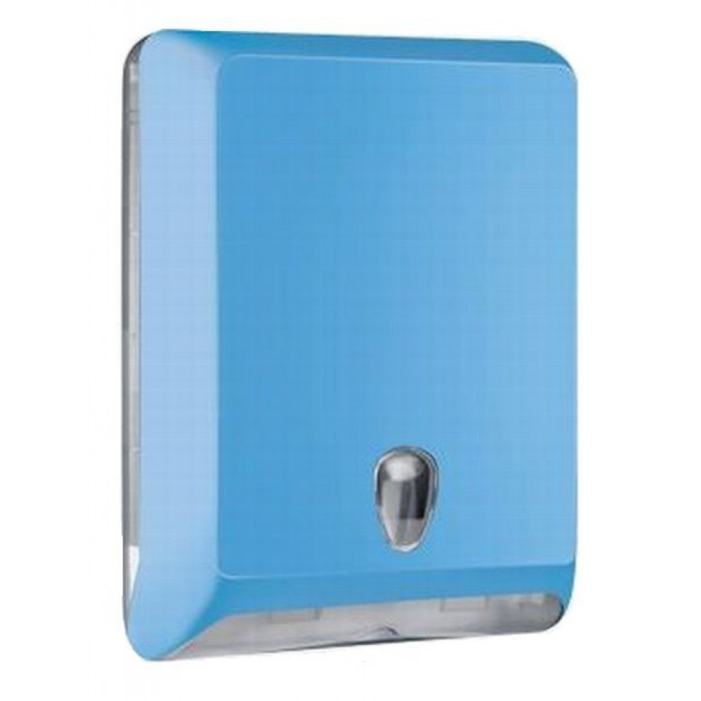 Zásobník uterákov COLORED V modrý