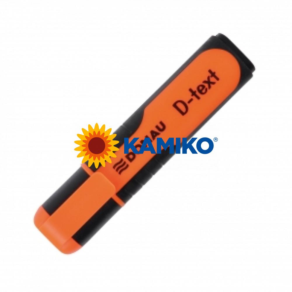 Zvýrazňovač DONAU D-text oranžový