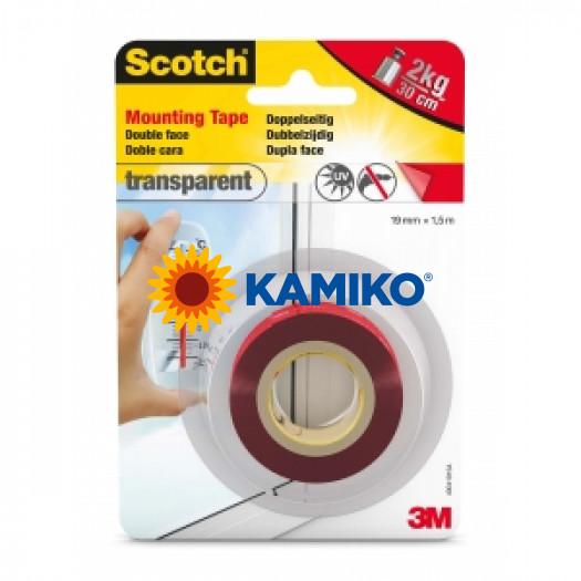 Montážna páska Scotch  35 priesvitná 19mm x 1,5m