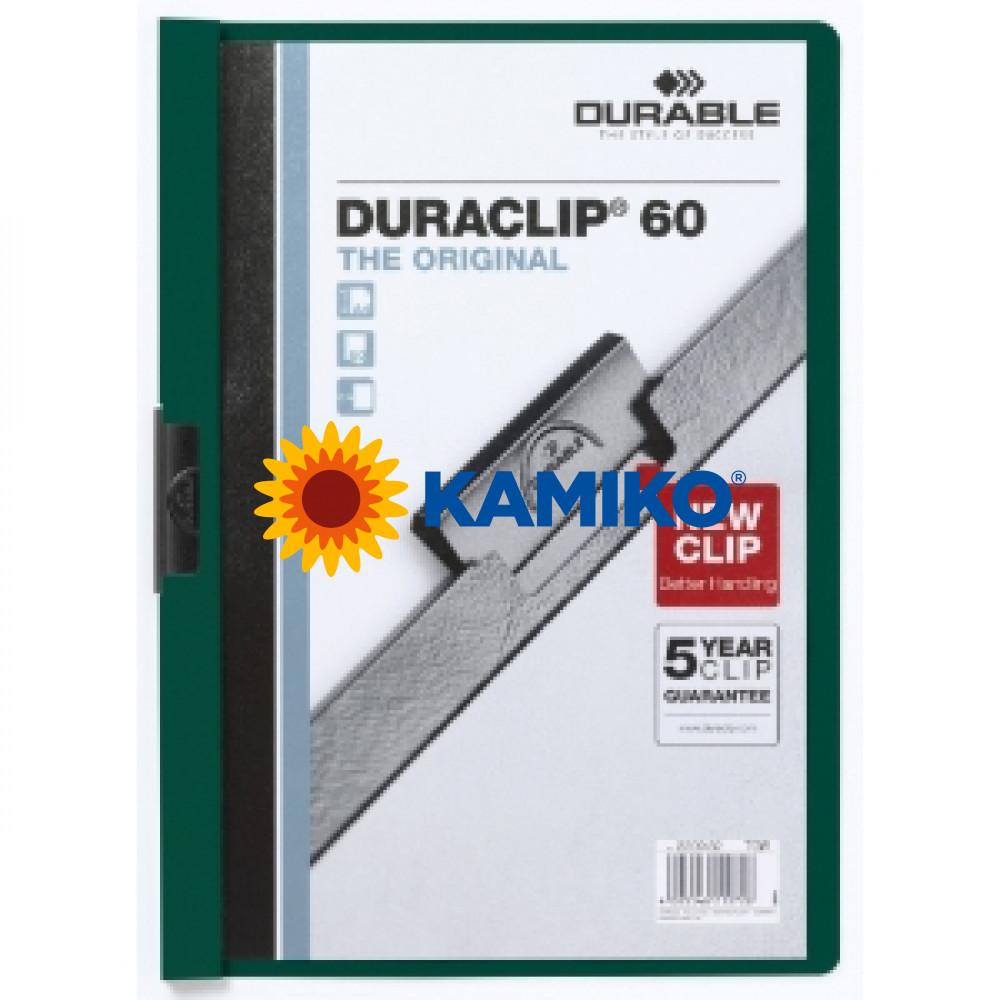 DURACLIP Original 60 tmavozelený