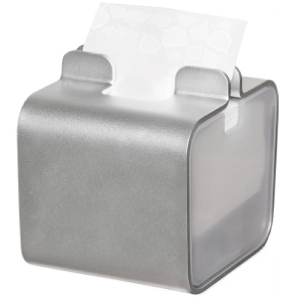 Zásobník servítok TORK SNACK vo farbe hliníka
