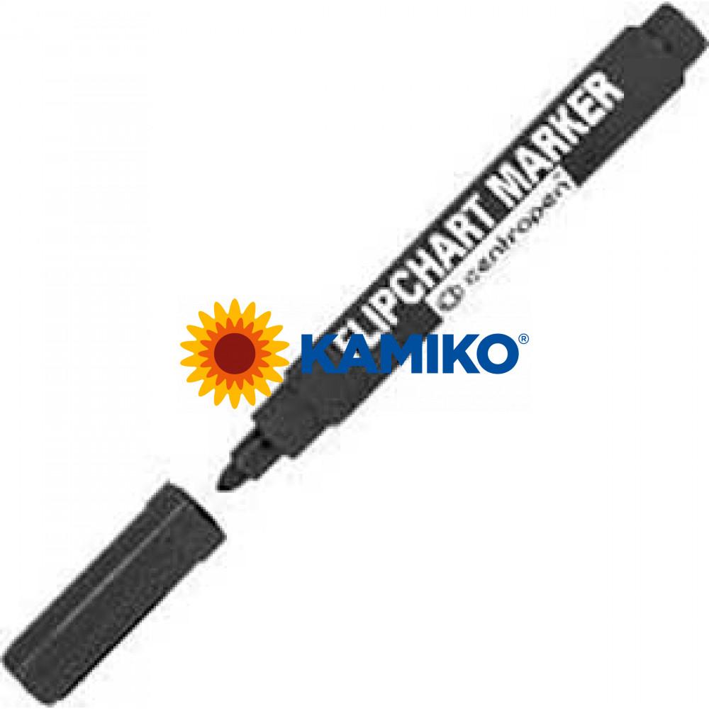 Popisovač na flipchartové bloky Centropen 8550 čierny