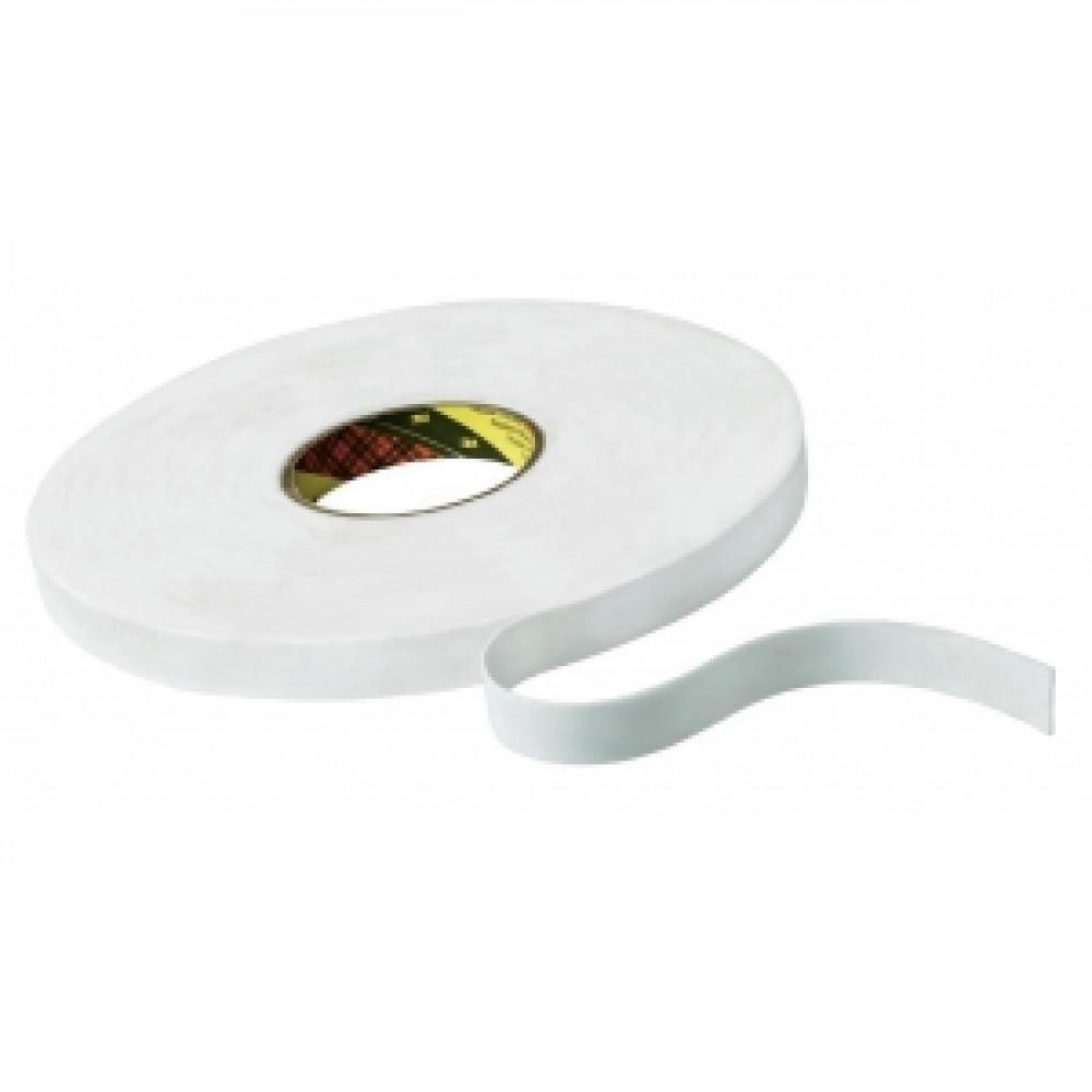 Obojstranná akrylátová páska biela 19mmx66m