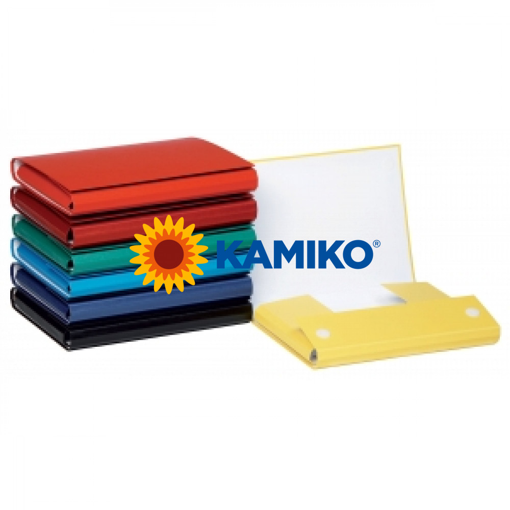 Kartónový box so suchým zipom 35 mm tmavomodrý