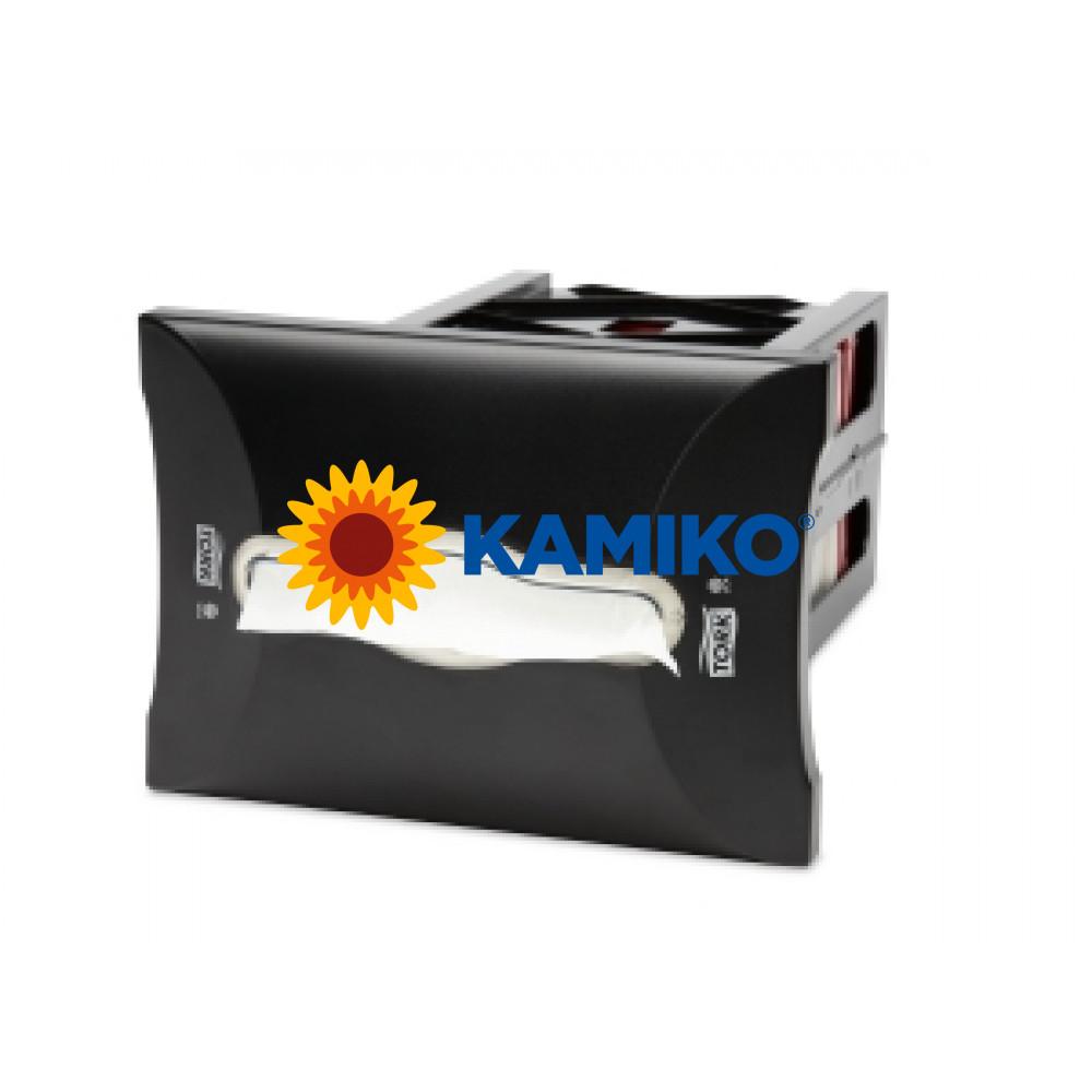 Zásobník servítok TORK XPR vstavaný čierny