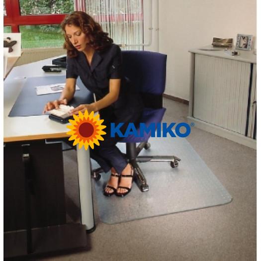 Podložka pod stoličku na koberce 121x92 cm