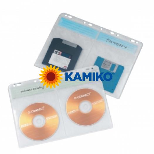Obaly na archiváciu CD/DVD Q-Connect, bal.10 ks