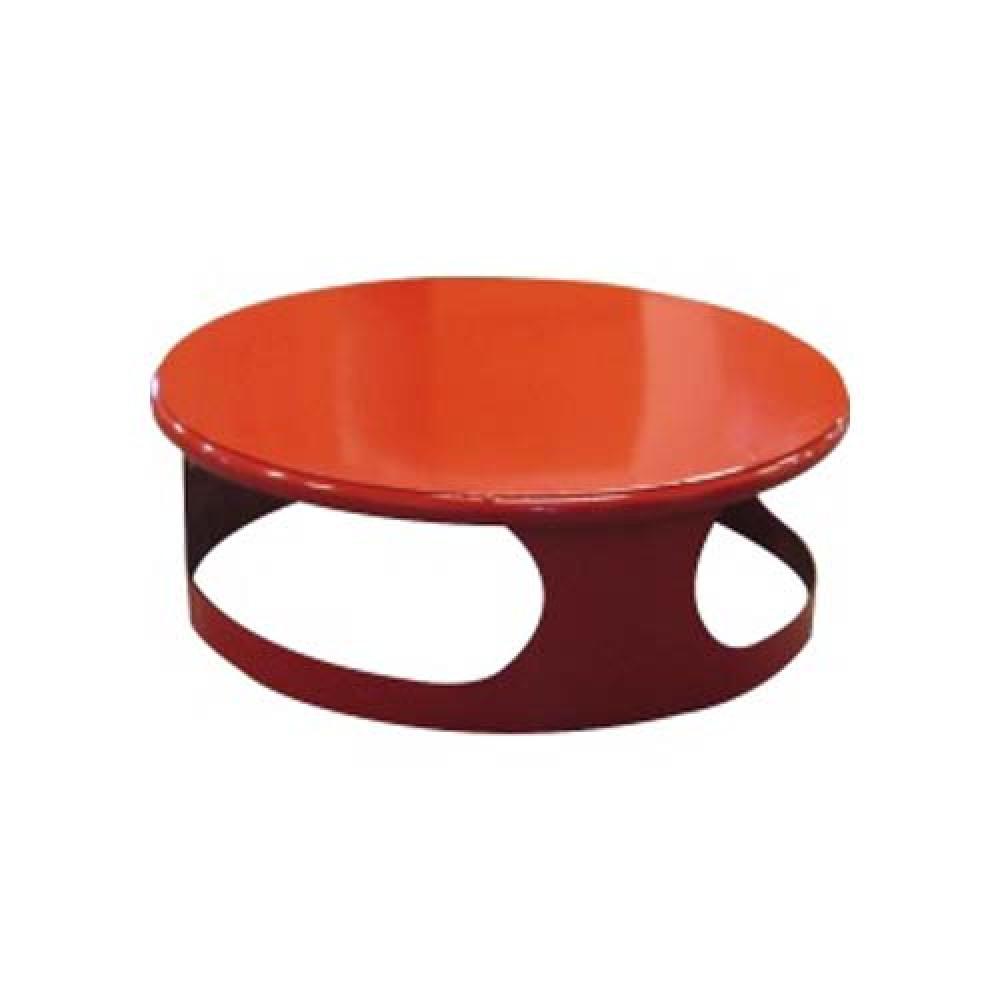 Veko koša pre betónový kôš 180 kg - lak červený