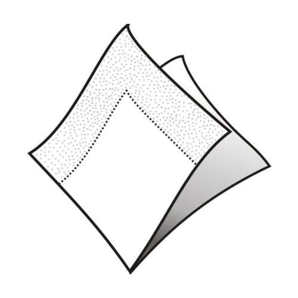 Servítky koktejlové 24 x 24 cm, 2 vrstvy, biele