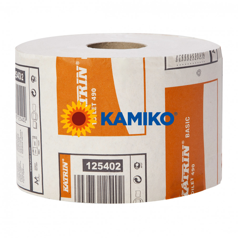 Toaletný papier 2vr KATRIN Economy 68m, natural