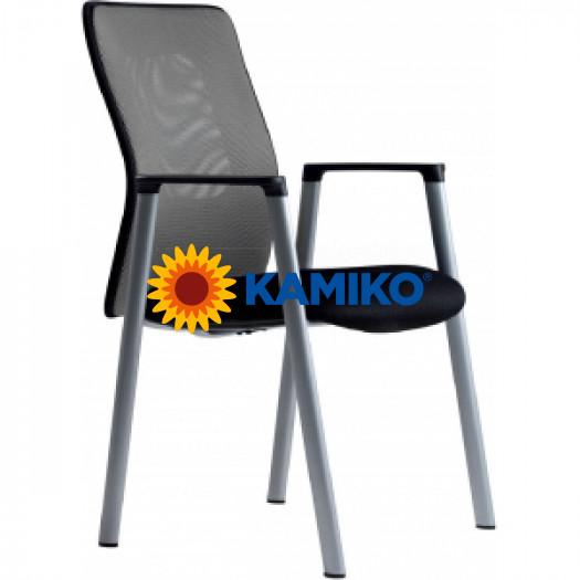 Rokovacia stolička CALYPSO MEETING antracitová 1211