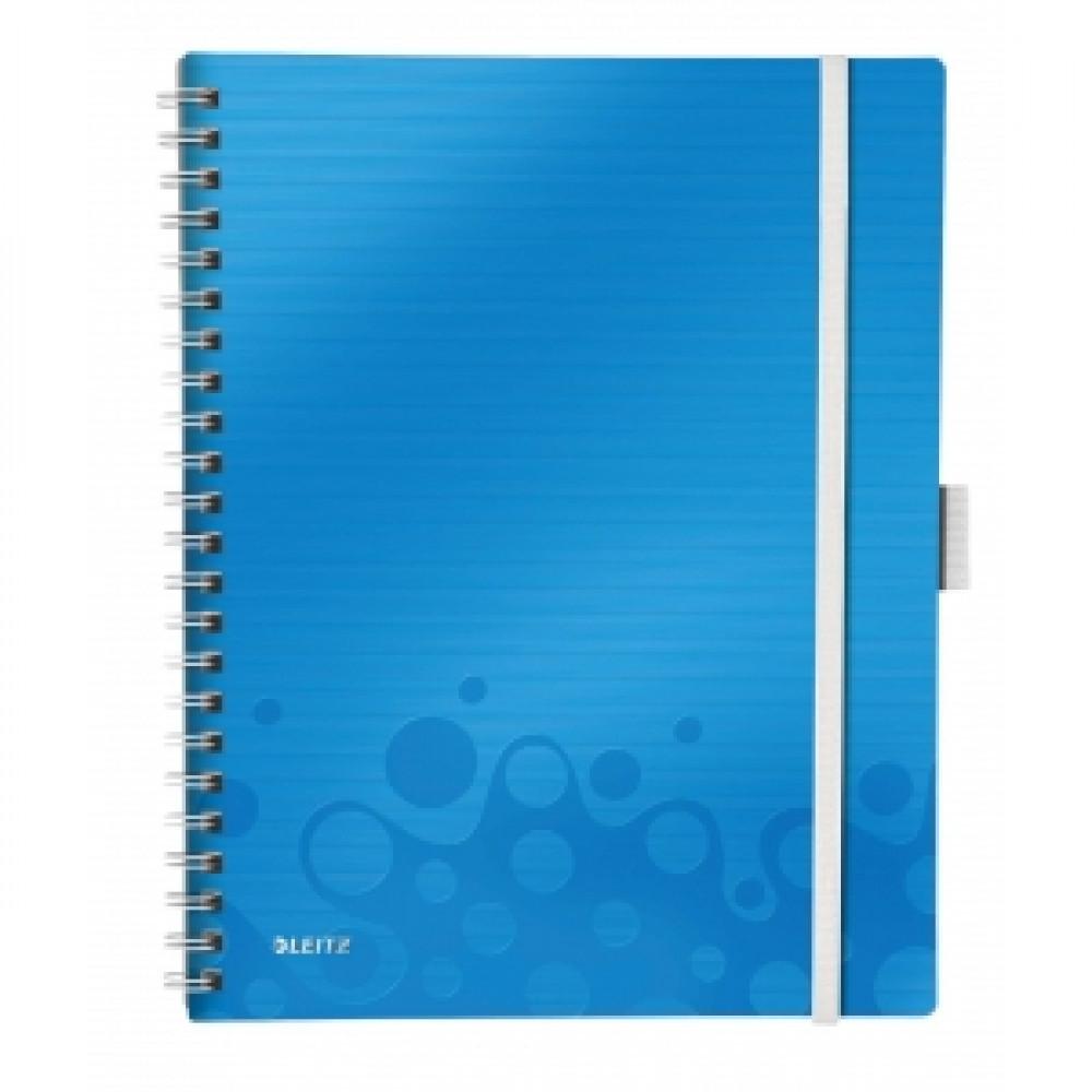 Organizačný blok linajkový A4 WOW modrý