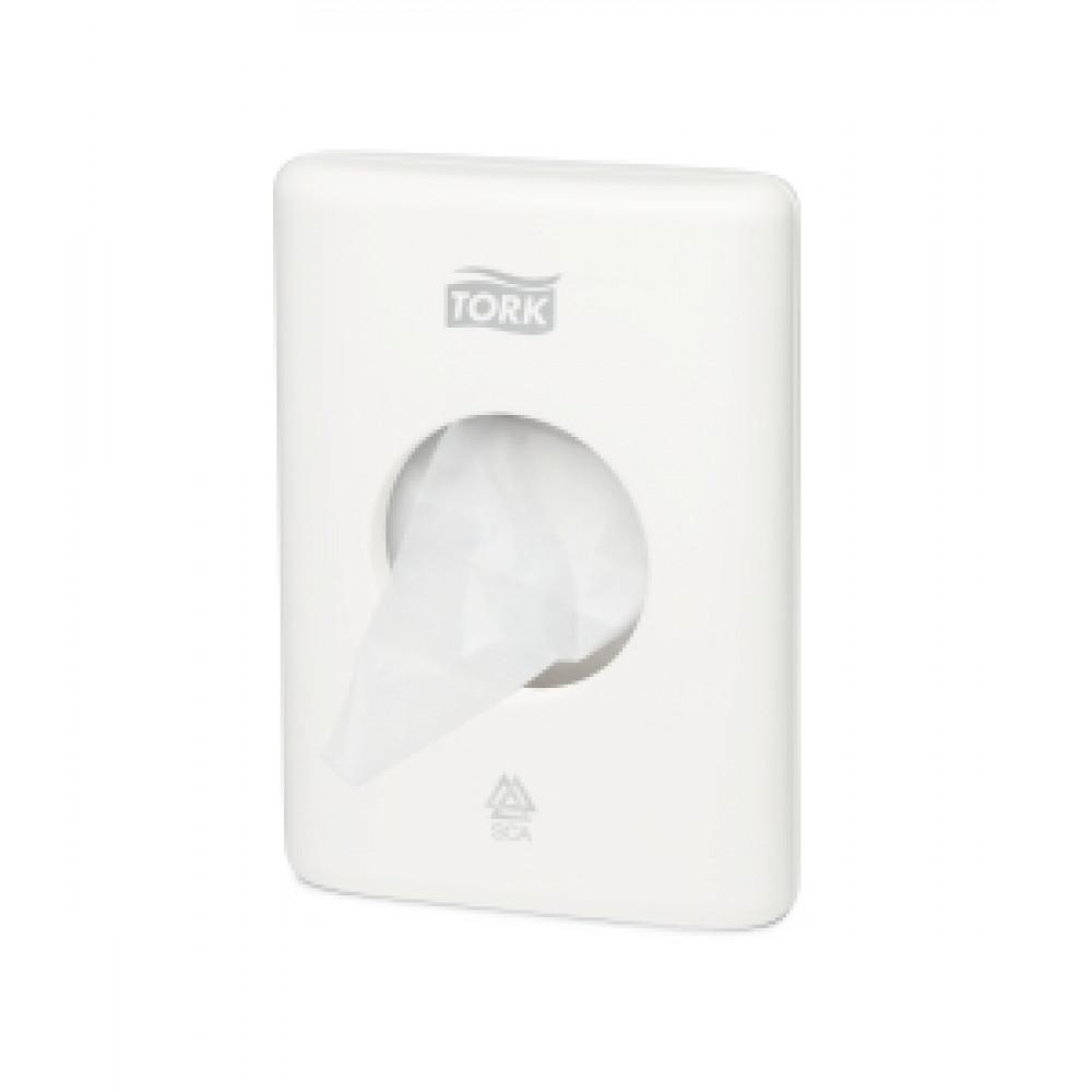 Zásobník na hygienické vrecká TORK, biely