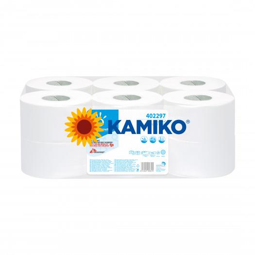 Toaletný papier 2vr Jumbo PAPERNET 19 cm, biela celulóza