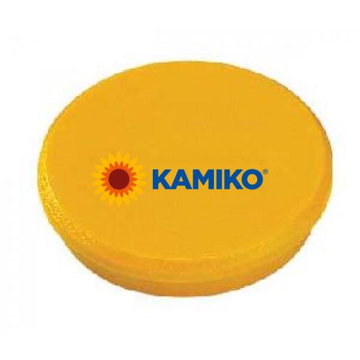 Magnet 32 mm žltý