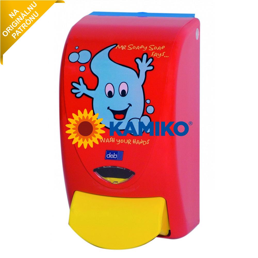 Dávkovač peny DEB Pro Line Soapy, detský, červený