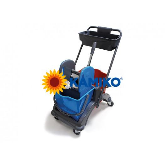 Upratovací vozík 2x25L, plastový - veľký