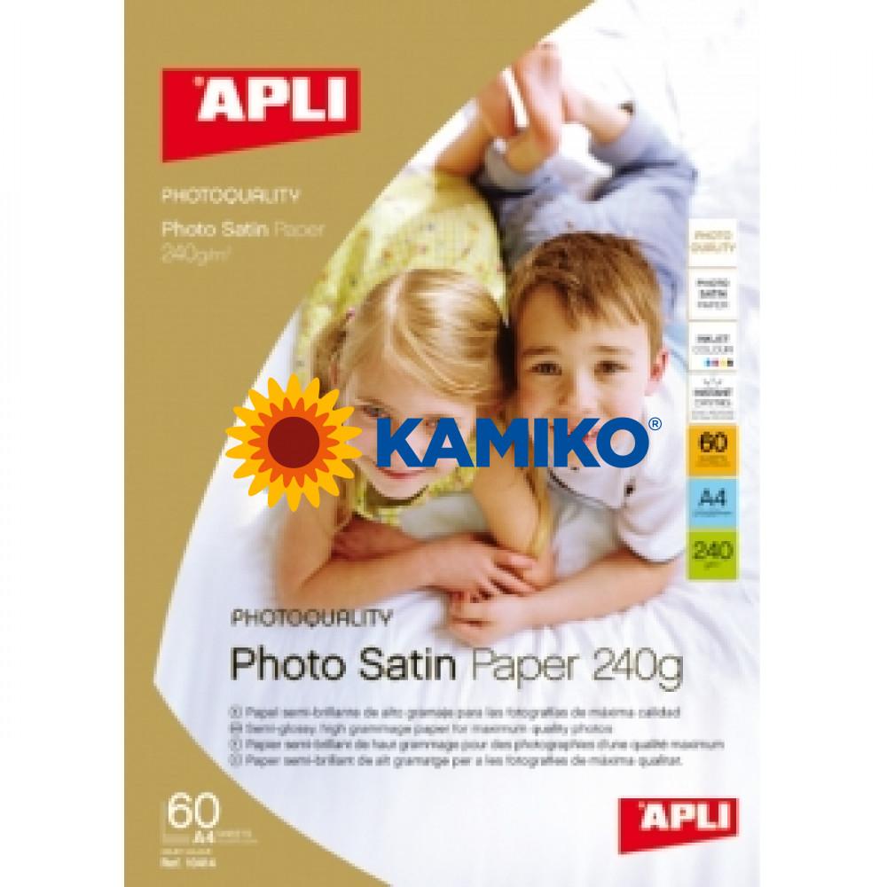 Fotopapier APLI A4 satin 240g, 25 hárkov