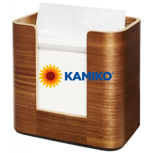Zásobník servítok TORK XPR stolový drevený