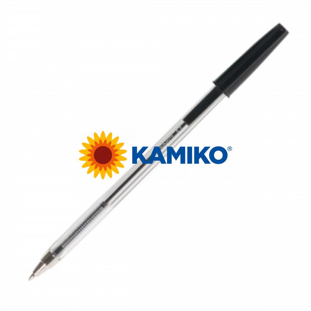 Jednorázové guličkové pero Q-CONNECT M čierne