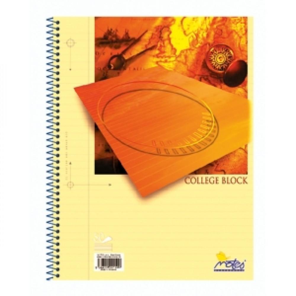 Blok College A5 50 listov linajkový