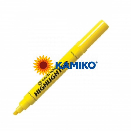 Zvýrazňovač Centropen 8552 (8852) žltý