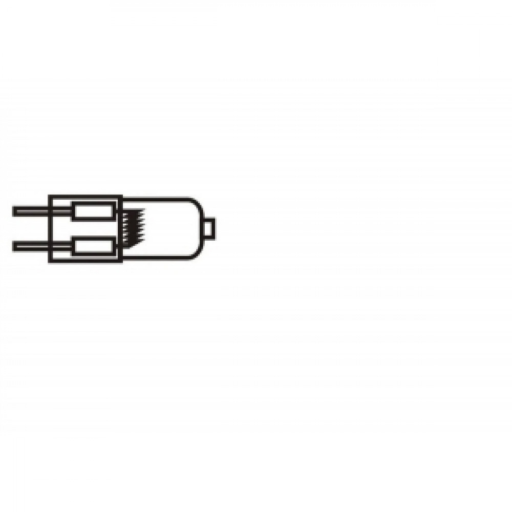 Halogénová žiarovka 50 W,GY6,35, 12V