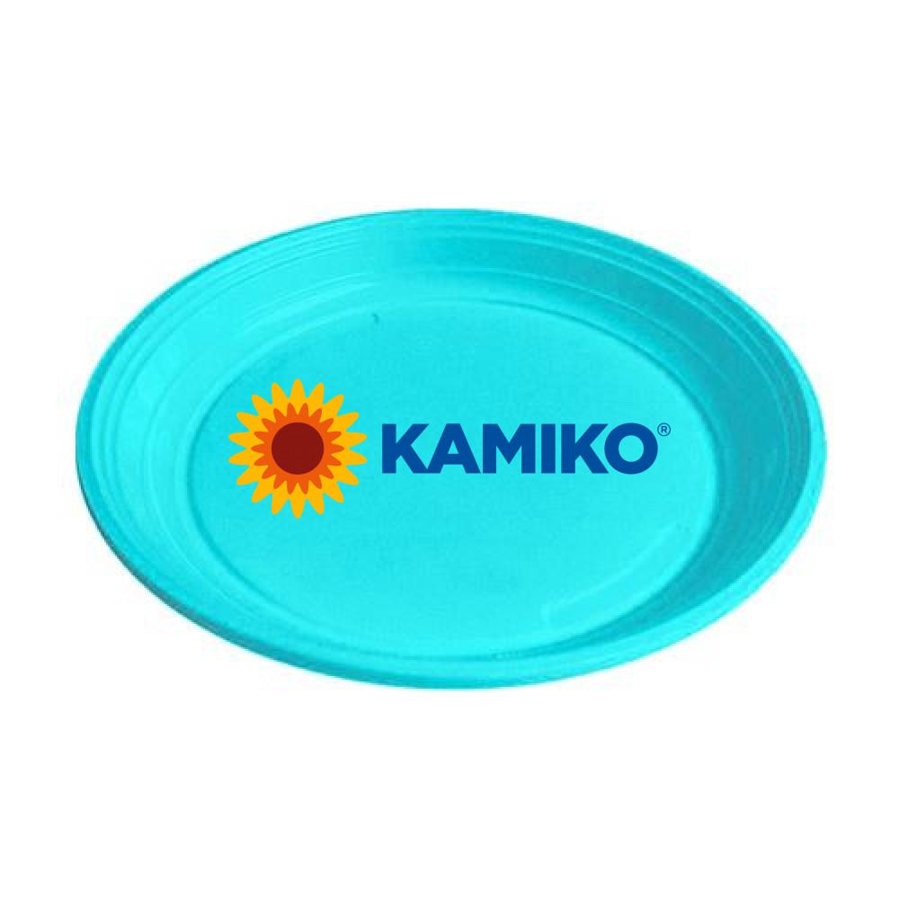 Plastový tanier svetlo-modrý 22 cm (PS)