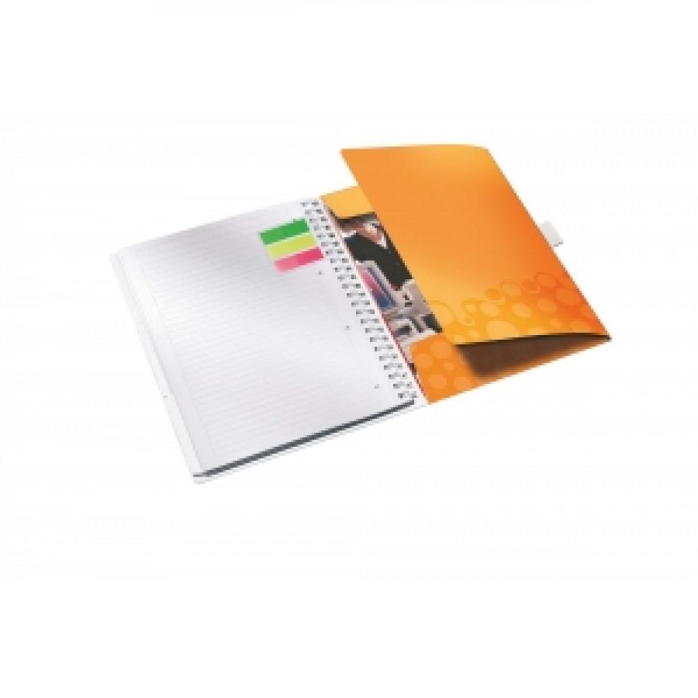 Organizačný blok linajkový A4 WOW oranžový