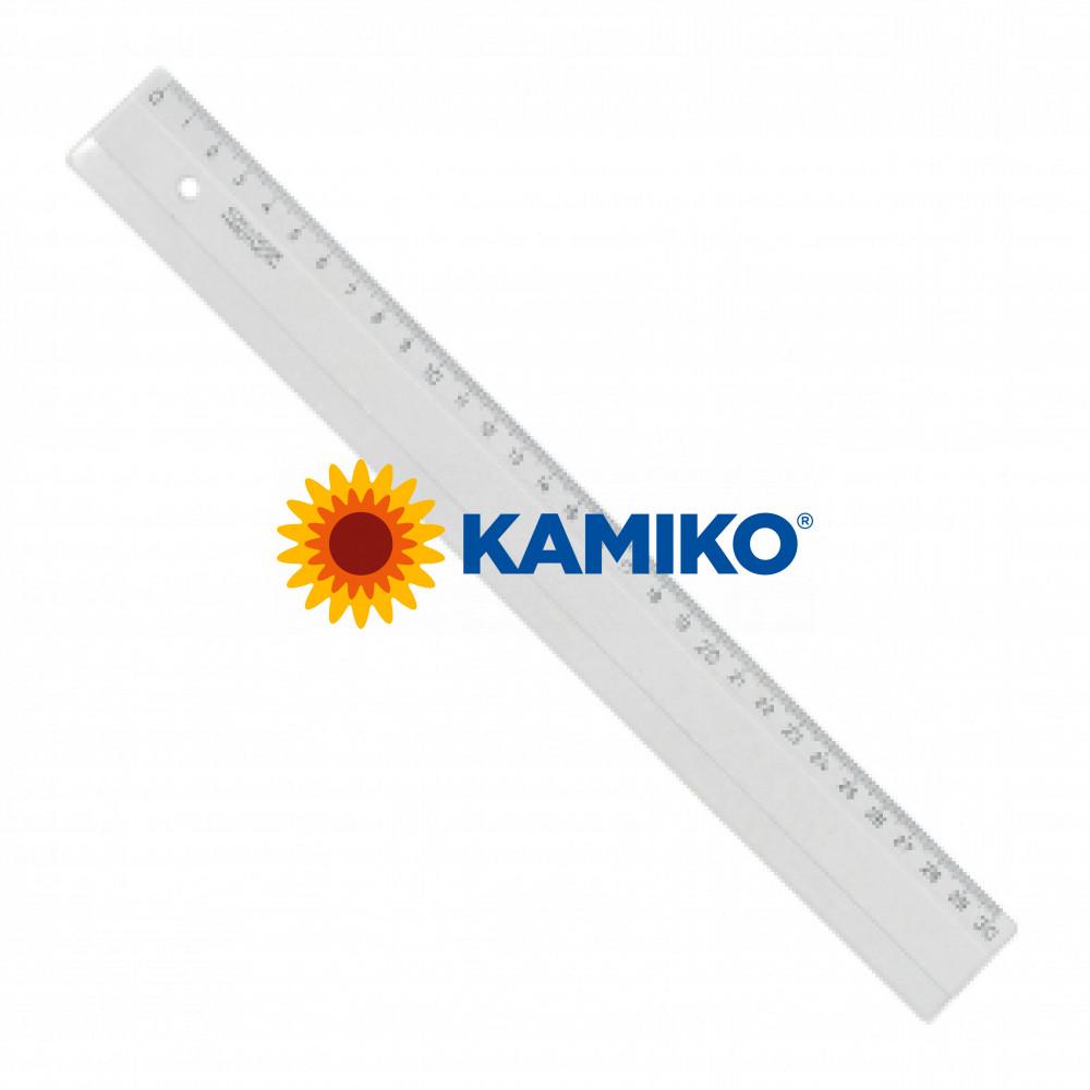 Pravítko Koh-i-noor 30 cm transparentné