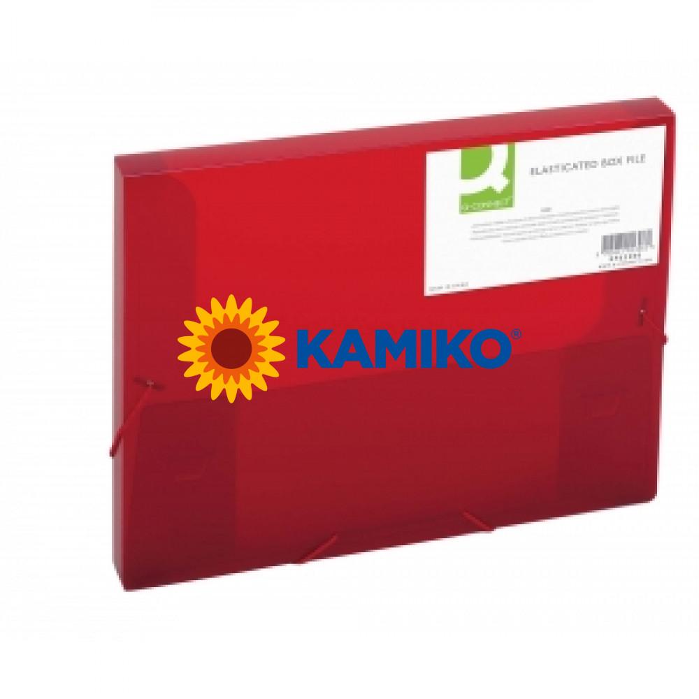 Box na dokumenty Q-Connect červený
