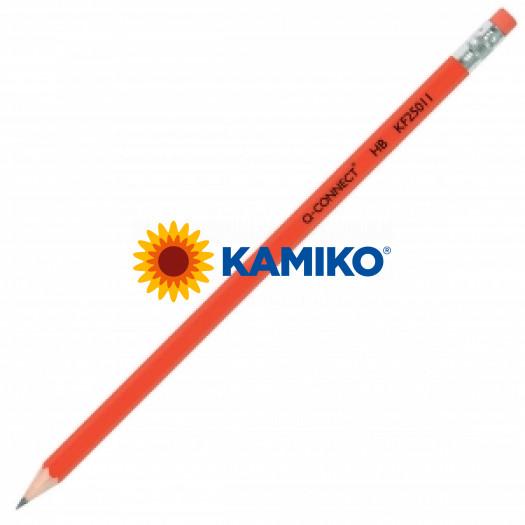 Grafitová ceruzka Q-CONNECT s gumou